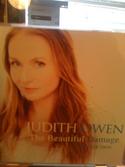 The Captivating Judith Owen her new album  THe Beautiful Damage Collection (Of cover versions, released 19th Feb) has a remarkable version of Deep Purple's Smoke On The Water...